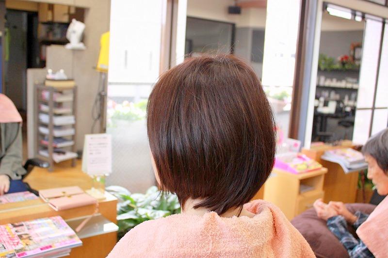 ご来店時 髪が多いのにペタッとする