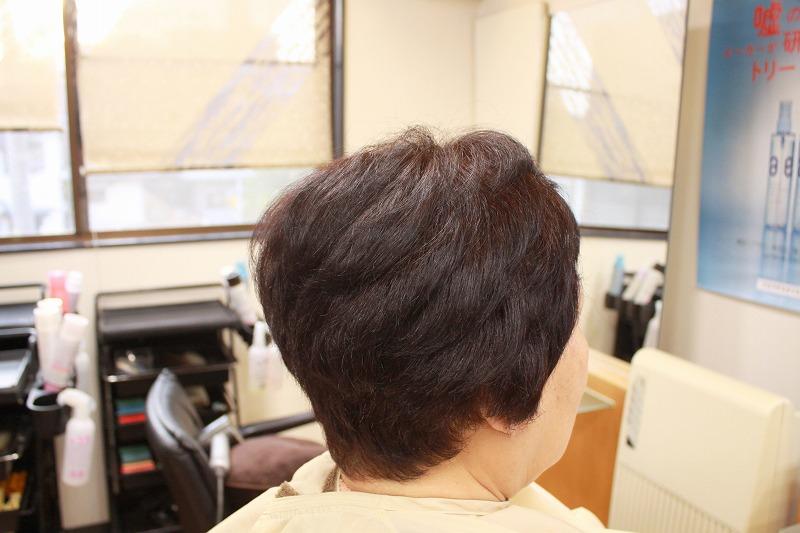 仕上がり 強めのくせ毛も自然な仕上がり
