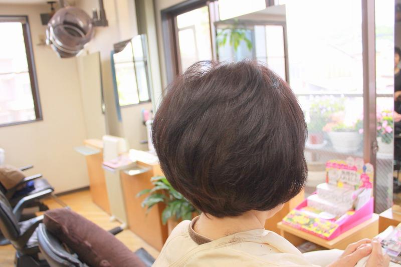 仕上がり ふんわりボリュームアップして柔らかい毛流れ
