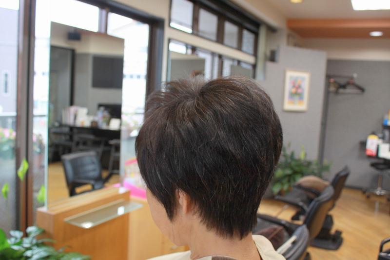 仕上がり くせ毛ブローレスカット(キュビズムカット)