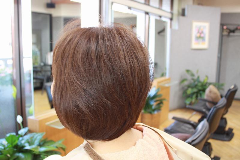 仕上がり 髪が ふんわり動けるように