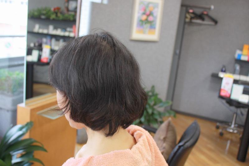 ご来店時 軟毛うねるくせ毛