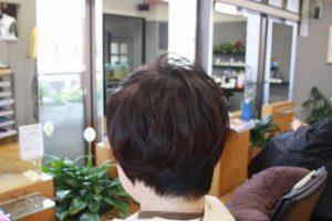 仕上がり くせの毛流れも収まりふんわり