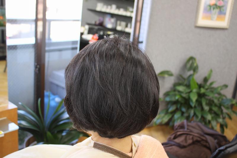 カット後そのまま 髪がふんわり動きやすく