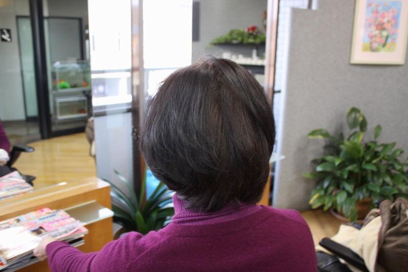 ご来店時 軟毛の方の簡単スタイル